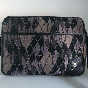 Vivienne Westwood argyle print laptop bag